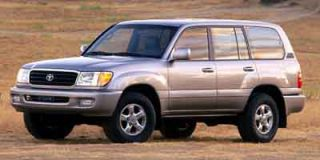 2001 Toyota Land Cruiser Photo