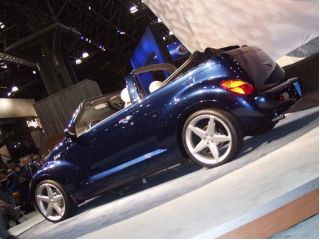 2001 Chrysler PT Cruiser Convertible concept