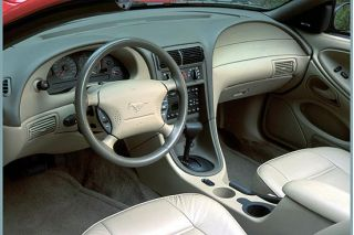 2001 Ford Mustang GT interior