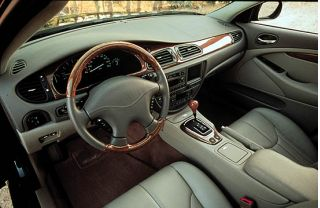 2001 Jaguar S Type Interior