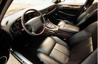 2001 Jaguar XJR interior
