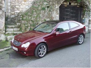 2002 benz c class coupe the car connection. Black Bedroom Furniture Sets. Home Design Ideas