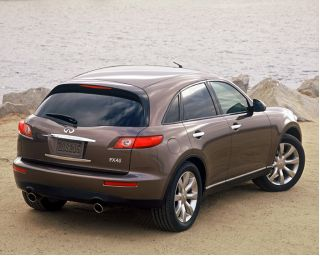 2003 Infiniti Fx45 Page 1 Review The Car Connection