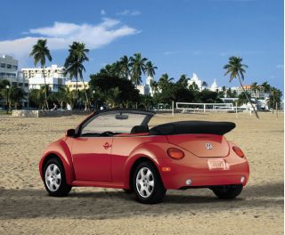 2003 volkswagen new beetle convertible vw page 1 review the car connection. Black Bedroom Furniture Sets. Home Design Ideas