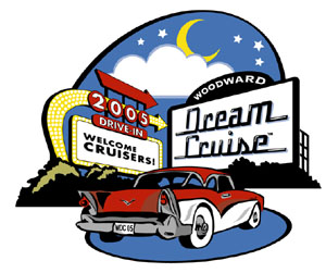 2005 Woodward Dream Cruise logo