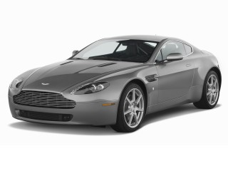 Angular Front Exterior View - 2008 Aston Martin Vantage 2-door Coupe Man