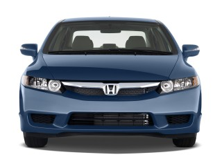 Front Exterior View - 2009 Honda Civic Hybrid 4-door Sedan