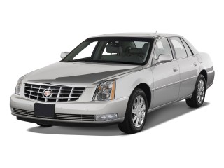 Angular Front Exterior View - 2010 Cadillac DTS 4-door Sedan w/1SA