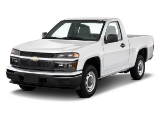 Angular Front Exterior View - 2010 Chevrolet Colorado 2WD Reg Cab 111.2