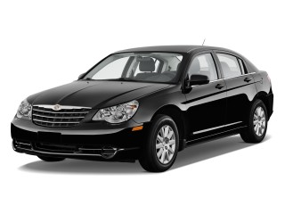 Angular Front Exterior View - 2010 Chrysler Sebring 4-door Sedan Touring