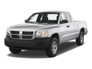 Angular Front Exterior View - 2010 Dodge Dakota 2WD Ext Cab ST