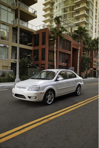 2011 Coda Sedan, final production version