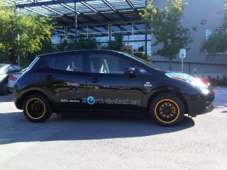 Lance Armstrong's 2011 Nissan Leaf