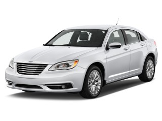 Angular Front Exterior View - 2012 Chrysler 200 4-door Sedan Limited