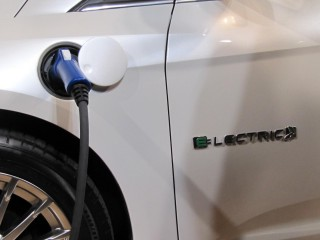 2012 Ford Focus Electric launch, New York City, January 2011 - charging point