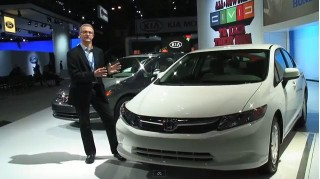 2012 Honda Civic HF at New York Auto Show, April 2011