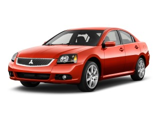 Angular Front Exterior View - 2012 Mitsubishi Galant 4-door Sedan SE