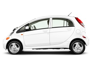 Side Exterior View - 2012 Mitsubishi i-MiEV 4-door HB SE