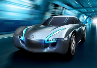 2012 Nissan ESFLOW Concept Electric Car