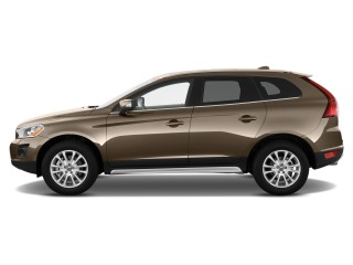 2012 Volvo XC60 AWD 4-door 3.2L Side Exterior View