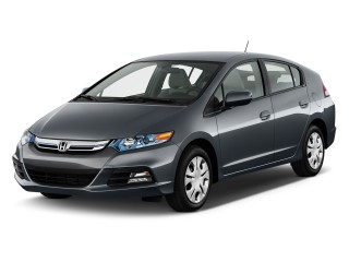 Angular Front Exterior View - 2013 Honda Insight 5dr CVT