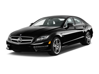 Angular Front Exterior View - 2013 Mercedes-Benz CLS Class 4-door Sedan CLS63 AMG RWD
