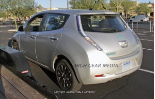 2013 Nissan Leaf: Spy Shots Of New, Less-Expensive Model