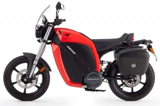 2014 Brammo Enertia electric motorcycle