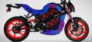 2014 Brammo Icon Spec 32 electric motorcycle