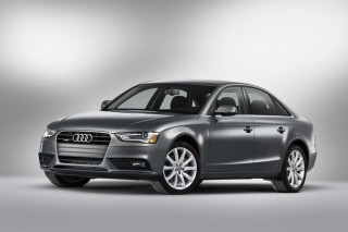 photo of Dianna Agron Audi A4 - car