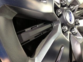 Active wheel shutters  -  Ford Atlas Concept  -  2013 Detroit Auto Show