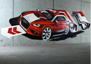 Audi A1 teased ahead of 2010 Geneva Motor Show