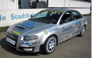 Audi A4 fueled by biogas