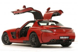 Brabus Widestar kit for the Mercedes-Benz SLS AMG