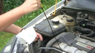 Car care - checking oil - AAA