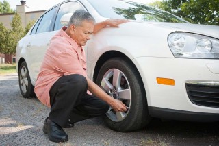 Car care - checking tire pressure - AAA