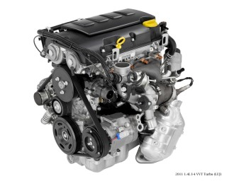 2011 Chevrolet Cruze 1.4T Ecotec engine