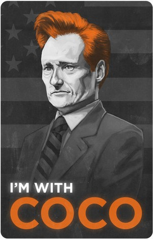 Conan O'Brien I'm With Coco