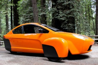 The Fate Of This 3 Wheeled Futuristic 84 Mpg Car