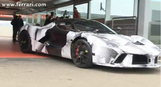 Fernando Alonso Continues To Fine-Tune The LaFerrari: Video
