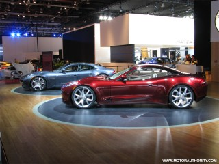 fisker karma coupe at naias 05