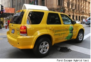 Ford Escape Hybrid Taxi