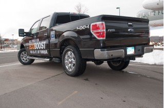 2011 Ford F-150 EcoBoost rear view - Drive Tour 2011
