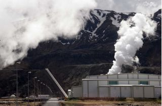 Geothermal Power Plant in Iceland