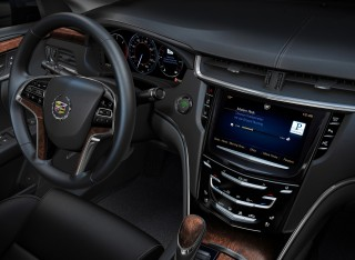 GM CUE interface - 2013 Cadillac XTS
