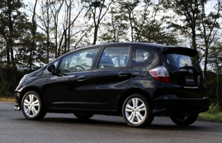 Honda Fit engineering mule - previewing future 1.5 DI engine and CVT - Tochigi, Japan, 11/2012