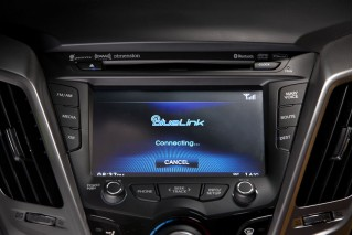 Hyundai Blue Link screen interface