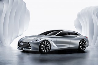 Infiniti Q80 Inspiration Hybrid Concept Unveiled At Paris Motor Show