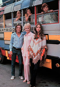 Partridge Family bus via Wikimedia