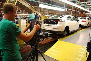 'Revenge of the Electric Car' movie: 2011 Chevrolet Volt production